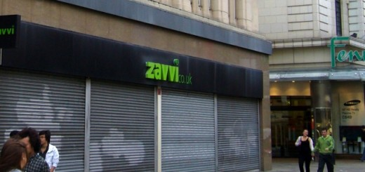 Former Zavvi, Newcastle (27 Sep 2009). Photograph by Graham Soult