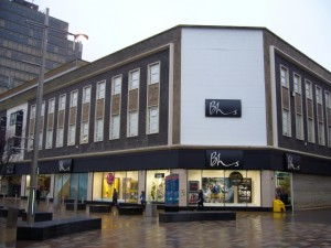 Revamped Bhs in Middlesbrough. Photograph by Graham Soult