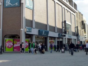 Bhs in Newcastle. Photograph by Graham Soult