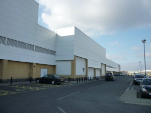 Former Woolworths, Newcastle Shopping Park, Byker (7 Mar 2010). Photograph by Graham Soult