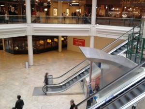 TK Maxx site at MetroCentre's Blue Mall. Photograph by Graham Soult