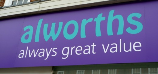 Alworths fascia. Photograph by Graham Soult