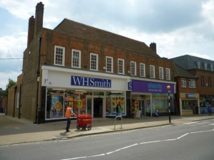 WHSmith and Alworths in Amersham (14 May 2010). Photograph by Graham Soult