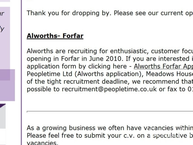 Alworths Plans Cupar And Forfar Openings As Graham Pays A Visit To