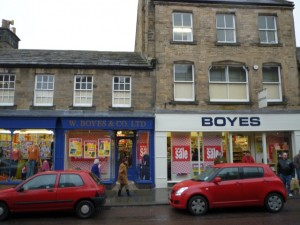 Boyes in Barnard Castle (6 March 2010). Photograph by Graham Soult