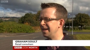 Graham on Look North (21 Sep 2012)