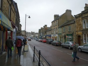 Horse Market, Barnard Castle (6 March 2010). Photograph by Graham Soult