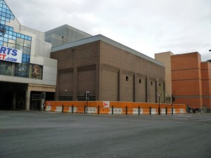 Site of new Next store in Newcastle (16 May 2010). Photograph by Graham Soult