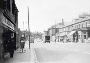 Adelaide Terrace from Woolworths, Benwell, c.1969. Photograph from 'Along the Terrace'
