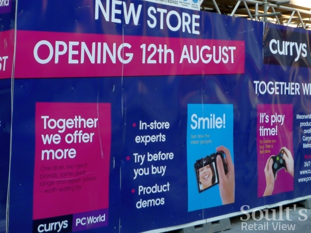 Upcoming PC World and Currys store in Northumberland Street, Newcastle (17