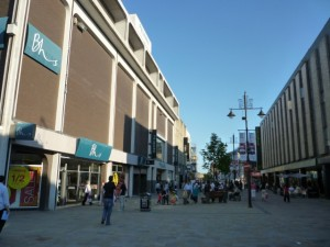 Northumberland Street scene, Newcastle (17 June 2010). Photograph by Graham Soult