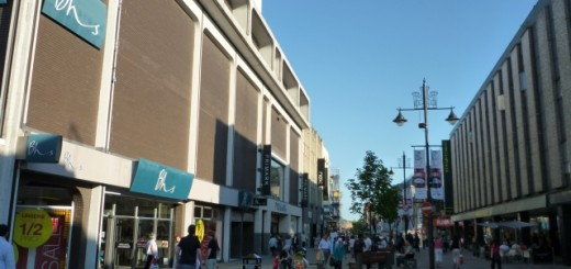 Northumberland Street scene, Newcastle (17 June 2010). Photograph by Graham Soult