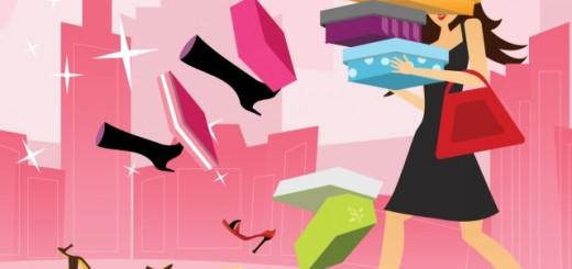 Shoe shopping. Image by Allie Hylton