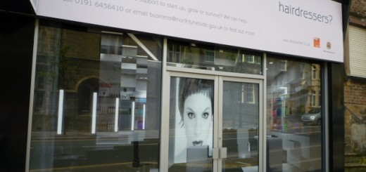 Shopjacket im Howard Street, North Shields (18 Jun 2010). Photograph by Graham Soult