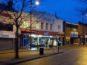 Former Woolworths (now B&M Bargains), Chester-le-Street (12 March 2010). Photograph by Graham Soult
