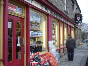 T.W. Alderson & Sons hardware store, Rothbury (13 February 2010). Photograph by Graham Soult