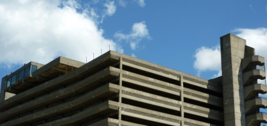 Gateshead's Get Carter car park (28 May 2010). Photograph by Graham Soult