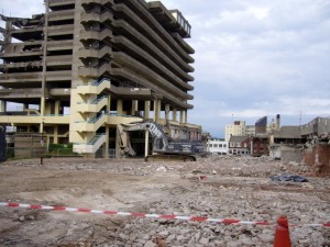 Gateshead car park (26 Jul 2010). Photograph by Graham Soult