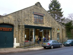 The Old Motor House, Rothbury (13 February 2010). Photograph by Graham Soult