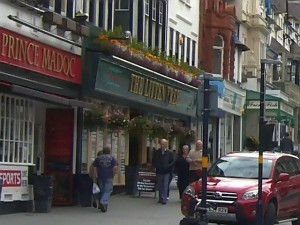 Planned site for The Original Factory Shop in Colwyn Bay (25 Sep 2009). Photograph by Graham Soult