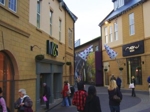 New M&S in Morpeth's Sanderson Arcade (4 Dec 2009). Photograph by Graham Soult