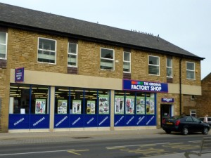 Existing store in Prudhoe (10 Apr 2010). Photograph by Graham Soult