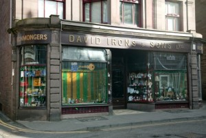 Image from 'Scotland's Shops' book, courtesy of Historic Scotland