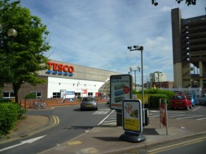 The existing Tesco store will also be demolished in due course (18 Jun 2010). Photograph by Graham Soult