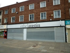 Former Woolworths - and former Ethel Austin - in Billingham (28 Jun 2010). Photograph by Graham Soult