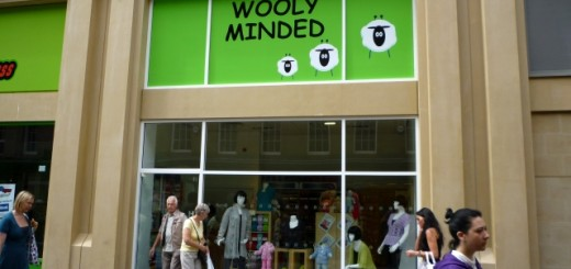 Wooly Minded, Clayton Street, Newcastle (24 Jun 2010). Photograph by Graham Soult