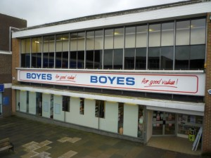 Boyes in Newton Aycliffe (12 Mar 2010). Photograph by Graham Soult