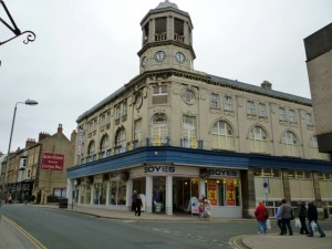 Boyes' flagship store in Scarborough (16 Aug 2010). Photograph by Graham Soult