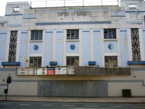 Globe Theatre, Stockton High Street (17 Sep 2009). Photograph by Graham Soult