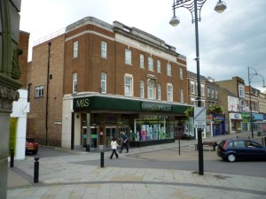 Marks & Spencer, Stockton High Street (28 Jun 2010). Photograph by Graham Soult