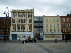 Empty shops in Stockton High Street (28 Jun 2010). Photograph by Graham Soult