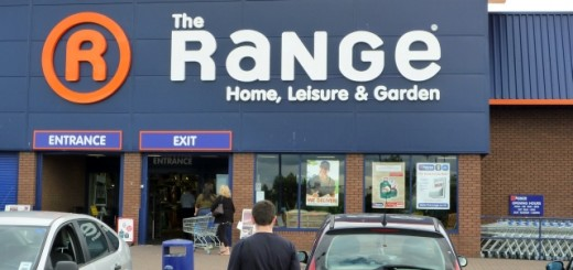 Main entrance of The Range, Stockton-on-Tees (31 Jul 2010). Photograph by Graham Soult