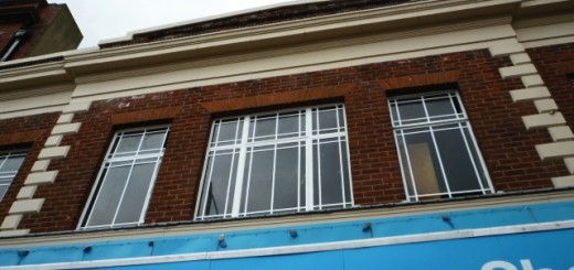 Frontage of original Woolworths store, Stockton-on-Tees (28 June 2010). Photograph by Graham Soult