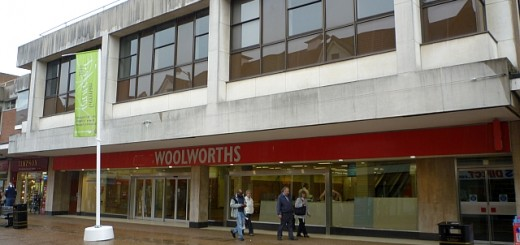 Former Woolworths, Sutton Coldfield (23 Aug 2010). Photograph by Graham Soult