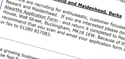 Fancy a job at Alworths?
