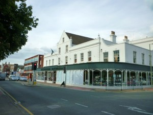 Collingwood Batchellor's department store in Horley (4 Sep 2010). Photograph by Graham Soult