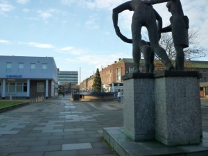 Billingham town centre (16 Nov 2010). Photograph by Graham Soult