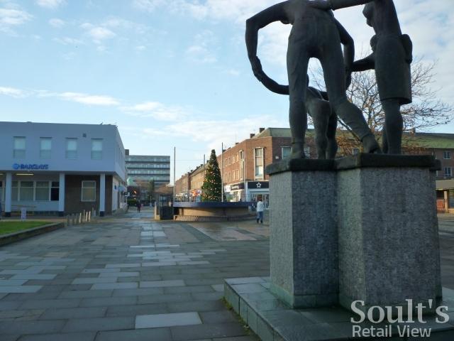 Billingham town centre (16 Nov 2010). Photograph by Graham Soult