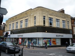 Burton store, Penrith (5 Nov 2010). Photograph by Graham Soult