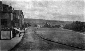 Crook Market Place, 1904. Image courtesy of C&DLHS