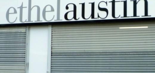 Shuttered Ethel Austin store. Photograph by Graham Soult