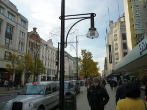 Oxford Street, with former Woolies on the left (24 Nov 2010). Photograph by Graham Soult
