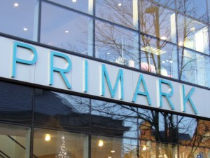 Primark fascia. Photograph by Graham Soult