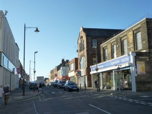 Saville Street with MIS store, North Shields (10 Nov 2010). Photograph by Graham Soult
