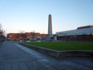 Victory Square, Hartlepool (16 Nov 2010). Photograph by Graham Soult