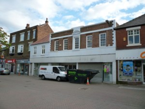 Former Woolworths (now Alworths), Swadlincote (24 Aug 2010). Photograph by Graham Soult